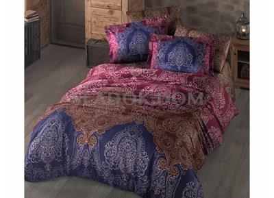 Clasy Indaba V1 Cotton Saten Double Duvet Cover Set
