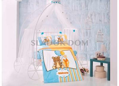 Clasy Sweet Bear Baby Duvet Cover Set