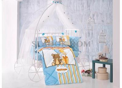Clasy Sweet Bear Completely Linens Set for Baby Bed