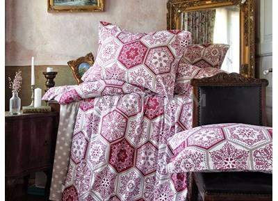 Clasy Verno Flanel Double Duvet Cover Set