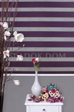 Economical Purple Zebra Curtain (Roller Blind)