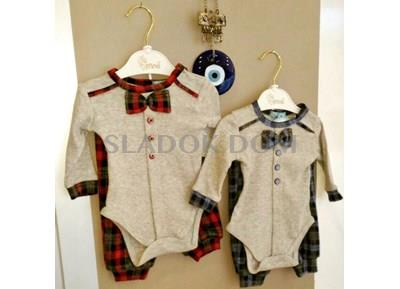 Minidon Baby Clothes - mnd bow tie set