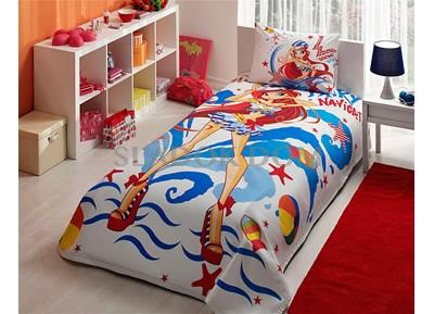 Taç Winx Bloom Ocean Duvet Cover Set